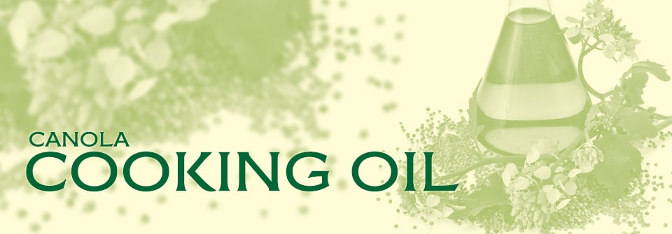 Conusmer Canola Cooking Oil Page Banner