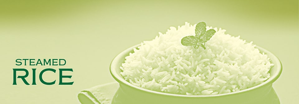Conusmer Steamed Rice Page Banner