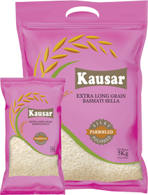 Kausar Extra Long Grain Basmati Sella Rice