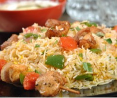 Chicken Shashlik Biryani