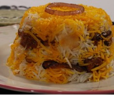 Mutton Cheese Biryani