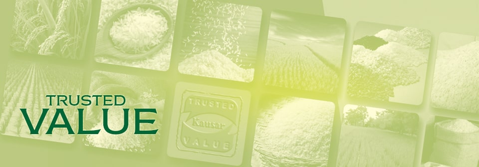 Kausar Rice Quality Control and Certifications Page Banner