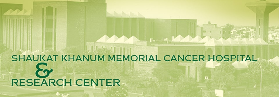Kausar Shaukat Khanum Memorial Cancer Hospital & Research Center Page Banner