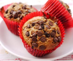 Chocolate Chip Cup Cake