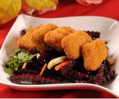 Beet Salad with Nuggets