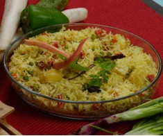 Hyderabadi Sabzi pulao
